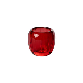 Coloured DeLight portavelas de té pequeño Deep Red