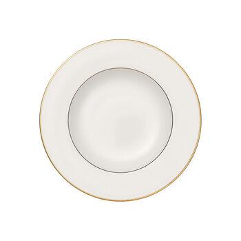 Anmut Gold plato hondo, diámetro de 24 cm, blanco/oro