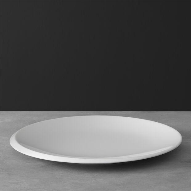 NewMoon plato gourmet, 32 cm, blanco, , large