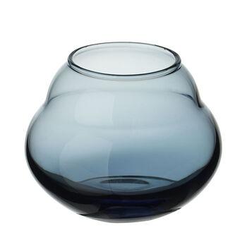 Jolie Bleue jarrón/portavelas de té