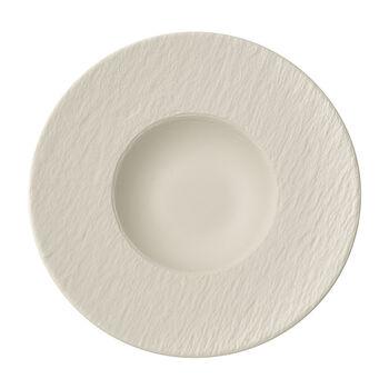 Manufacture Rock blanc Plato pasta 28x28x5cm