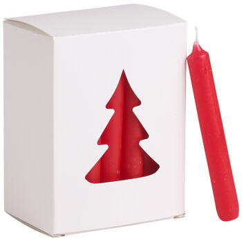 Essentials Candela Candela nav. roja Set 24 8x10,5x5,5cm