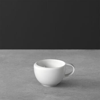 NewMoon taza de expreso, 100 ml, blanco