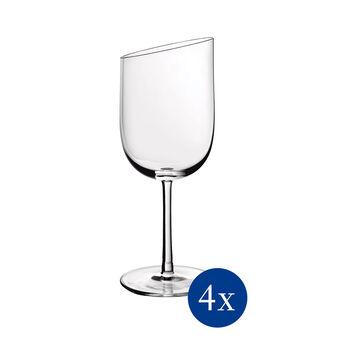 NewMoon set de vasos de vino blanco, 300 ml, 4 unidades