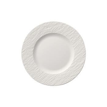 Manufacture Rock Blanc plato de desayuno