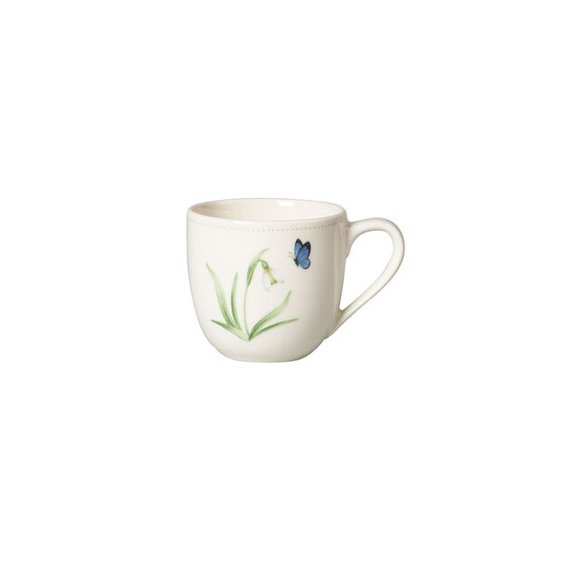 Colourful Spring taza para expreso, 100 ml, blanco/verde, , large