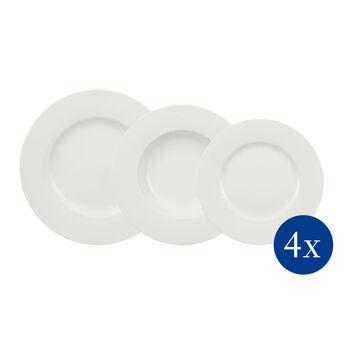 Wonderful World White set de platos de 12 piezas
