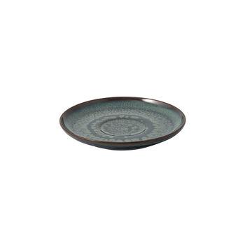 Crafted Breeze platillo para taza de café, gris azulado, 15 cm