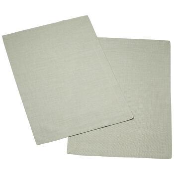 Textil Uni TREND Salvamanteles fog green Set 2 35x50cm