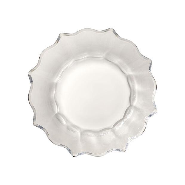 Christmas Glass Accessories fuente, transparente, 25 cm, 850 ml, , large