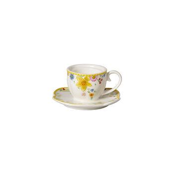 Spring Awakening portavelas de té, taza, amarillo/varios colores