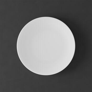 MetroChic blanc Plato postre/desayuno 22x22x2cm