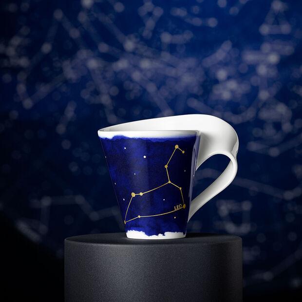 NewWave Stars taza con motivo de Leo, 300 ml, azul/blanco, , large