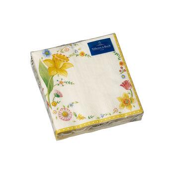 Spring Fantasy servilletas, flor de Pascua, 25×25cm, 20unidades