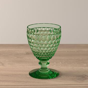 Boston Coloured Vaso de vino blanco Green