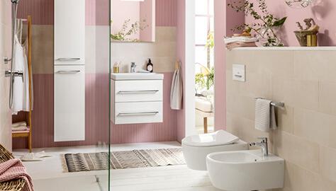 Baño pequeño con ducha - Soluciones de interiores - Villeroy & Boch