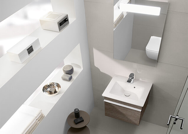 Baño de invitados - Más comodidad para sus invitados - Villeroy & Boch