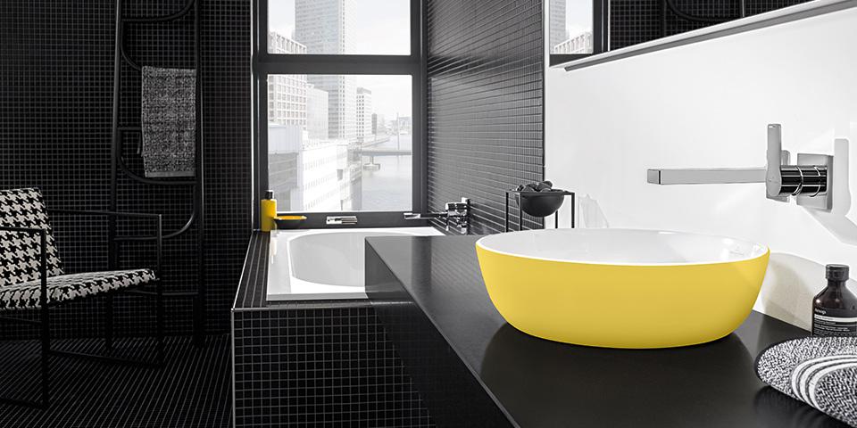 Más color en el cuarto de baño con Villeroy & Boch