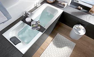 Bañera de diseño para cuartos de baño pequeños - Villeroy & Boch