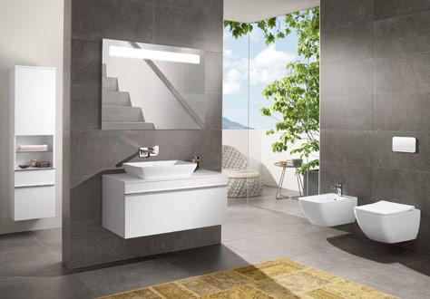 Una buena iluminación para el cuarto de baño - Villeroy & Boch