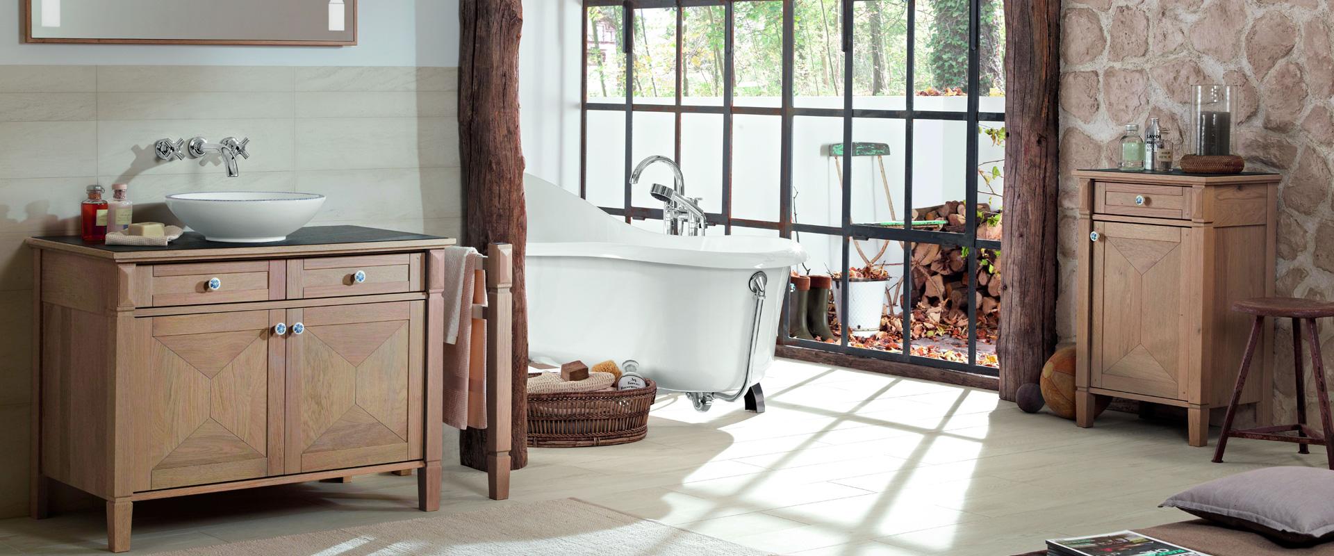 Muebles de madera para baño - Recomendaciones de cuidado